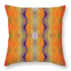 """H.p.mirror Print Throw Pillow by Expressionistart studio Priscilla Batzell.  Our throw pillows are made from 100% spun polyester poplin fabric and add a stylish statement to any room.  Pillows are available in sizes from 14"""" x 14"""" up to 26"""" x 26"""".  Each pillow is printed on both sides (same image) and includes a concealed zipper and removable insert (if selected) for easy cleaning."""