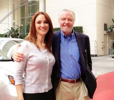 #JonVoight and @Véréna Mathieu King at #BiteSizeTV at #WHotel in #Hollywood.