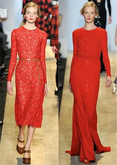 @RitaMargorita: @MichaelKors red dresses - absolutely stunning musthave. laced one is my big big love. #nyfw pic.twitter.com/O15OyXim