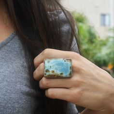 Design a clay ring...