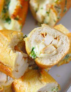 Bruschetta, Bagel, Baked Potato, Potatoes, Tasty, Mozzarella, Bread, Baking, Ethnic Recipes