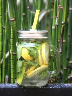 Detox water au citron - Marmiton