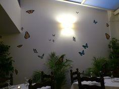"""Las mariposas van a la luz... -> en """"La Farándula"""", Altea"""