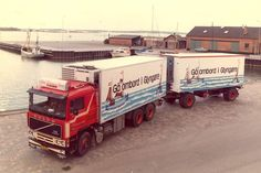 Old Lorries, Us Cars, Vintage Trucks, American Pride, Cool Trucks, Type 1, Vehicles, Volvo Trucks, Projects