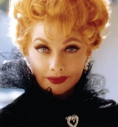 """Lucille Ball...Who DIDN'T Love Lucy?  This Beautiful Redhead Had Been A Film Star of """"B"""" Grade Movies Before Desi...Then, With Him At Her Side, She Started Hollywood's First TV Empire, Desilu Productions...A Hit In """"I Love Lucy,"""" After Desi, Her TV Show Underwent Several Name & Character Changes, But Lucy Still Made Us Laugh..Then Came """"Mame"""" and Other Great Film Roles...Oh, Lucy, We Miss You...And Love You Still!!"""