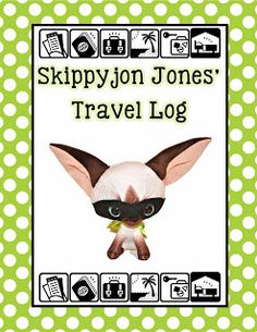 Skippy jon jones coloring page with sight words that i for Skippyjon jones coloring pages