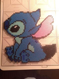 Stitch perler beads by Shawn Montalvo