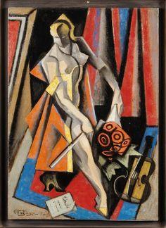 La Violoniste, 1955 - Jean Metzinger