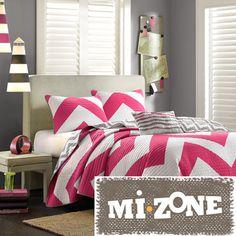 Mizone Virgo Reversible 4-piece Quilt Set | Overstock.com Shopping - The Best Prices on Mi-Zone Teen Quilts