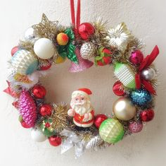 Christmas kitsch retro vintage handmade by VintageShopCreations