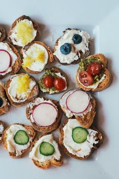 Crostini from a Vintage Spring Baby Shower | photos by Kelly Lynn James | Camille Styles