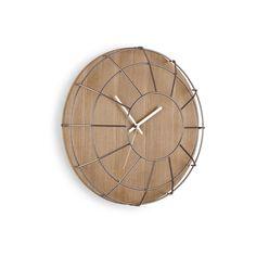 Umbra 118441-392 Cage Orologio da Parete, Naturale/Nickel: Amazon.it: Casa e cucina