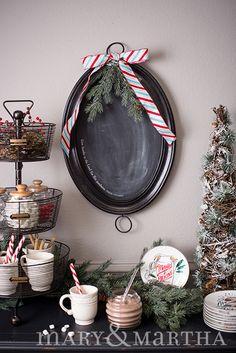 Create a cocoa bar this Christmas season with Mary & Martha!