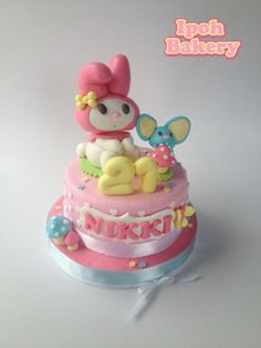 Melody the Rabbit - by WilliamTan @ CakesDecor.com - cake decorating website