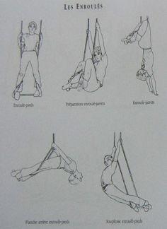 corva americana - enrollat a corves trapeze
