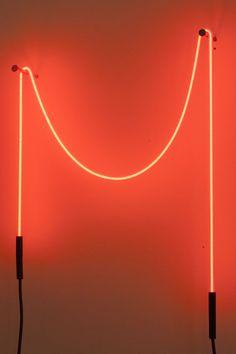 W Loft - Neon Art - Christian De Vietri - LoT Office for Architecture Neon Lighting, Lighting Design, Eero Saarinen, Hayward Gallery, Wall Lights, Ceiling Lights, Workplace Design, Light Installation, Modern Room