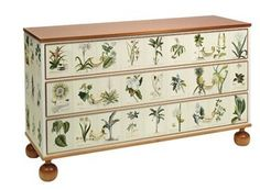Inspiration: DIY Decoupage Furniture