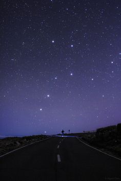 Miguel Claro sent in this cool image of the constellation Ursa Major, or the Big Dipper, shining over the road to Roque de Los Muchachos on the island of La Palma in the Canary Islands, Spain.