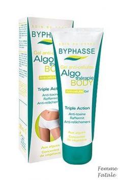 BYPHASSE Gel Κατά Της Κυτταρίτιτδας  200 Ml Καταπολεμά αποτελεσματικά την κυτταρίριδα και τις τοξίνες χάρις στο κοκτέιλ φυκιών και λαχανικών που περιέχει. Σας βοηθάει να διατηρήσετε την γραμμή σας και διατηρεί την επιδερμίδα υγιή. 'Ερχεται σε μορφή gel, το οποίο απορροφάται ευκολότερα χωρίς να αφήνει λιπαρότητα στο δέρμα. Χρήση: Εφαρμόστε πρωί και βράδυ στις περιοχές που υπάρχει πρόβλημα κάνοντας μασάζ με κυκλικές κινήσεις για λίγα λεπτά. Οι τιμές περιλαμβάνουν ΦΠΑ. Τιμή €7.90 Acting, Personal Care, Self Care, Personal Hygiene