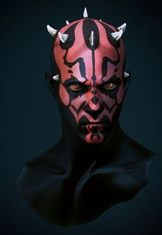 Darth Maul portrait, Star Wars