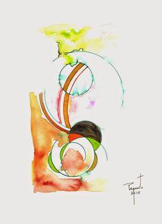 coisas de pintura:  aguarela sobre papel - 2015