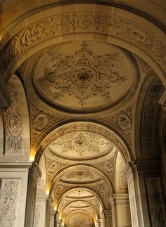 Ceiling detail - Versailles - Paris, France
