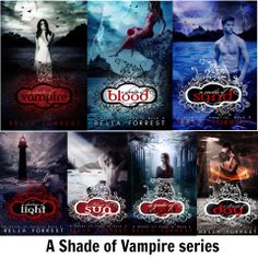 A Shade Of Vampire- can't stop reading these!