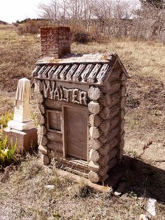 Walter.    group of cemeteries - above Central City, Colorado