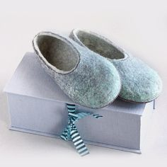 5316dab3fbfd3 19 Best felted slippers by VaivaIndre images in 2019 | Felt slippers ...