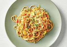 Free ganesh's 5 colours veggie pasta recipe. Try this free, quick and easy ganesh's 5 colours veggie pasta recipe from countdown.co.nz. Veggie Pasta Recipes, Latest Recipe, How To Cook Pasta, Recipe Collection, Diabetic Recipes, Quick Meals, Veggies, Vegetarian, Stuffed Peppers