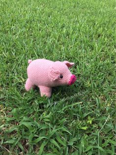 A personal favorite from my Etsy shop https://www.etsy.com/listing/536823014/pig-crochet-pig-pig-plushie-stuffed