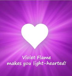Giving the violet flame makes you light-hearted! Spiritual Advisor, Spiritual Path, Spiritual Awakening, Spiritual Quotes, Spirit Signs, Ascended Masters, Social Emotional Learning, Angels In Heaven, Special Quotes