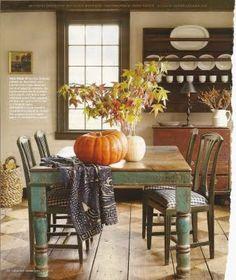 Farmhouse table + leaves