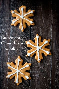 Gingerbread Cookies made with Butterscotch Pudding - a mild flavored gingerbread cookie your family will love! Perfect for cookie exchanges or a tasty addition to your Christmas presents for friends and teachers.