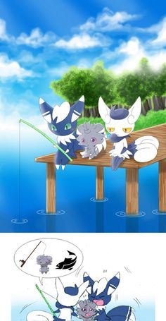 Meowstic and Espurr