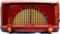 Truetone Deco radio Mid century beauty all Original 6 tube obscure stunner 1955!