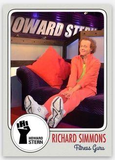 2015 Richard Simmons Fitness Guru Howard Stern Show Wackpack custom card! | Sports Mem, Cards & Fan Shop, Sports Trading Cards, Other Sports Trading Cards | eBay!