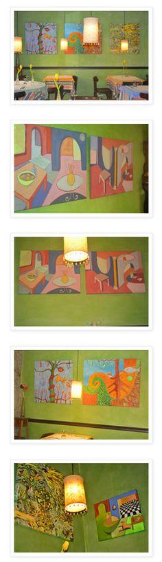 #Pintura  Espacios de Color en Vigo (Pontevedra) #exposiciones