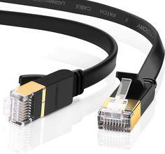 UGREEN CAT 7 Plat Câble Ethernet Réseau RJ45 Haut Débit 10Gbps 600MHz UFTP 8P8C Compatible avec Routeur Modem Switch TV Box PC Xbox PS3 PS4 Consoles de Jeux, Noir (20M): Amazon.fr: Informatique Router Wifi, Modem Router, Mac Laptop, Laptop Computers, Mac Os, Ps3, Ps4 Console, Nintendo Switch, Consoles