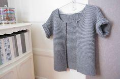 modèle tricot gratuit en français gilet de berger