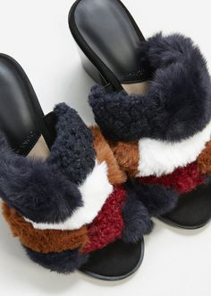 Hotter Uk Size 4 Std Patti Plum Slipper Boots Faux Fur Trim And Lining, Kleidung & Accessoires