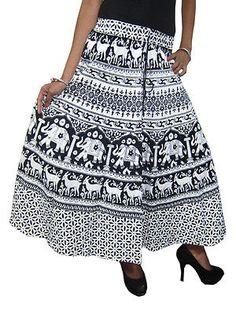 GYPSY-HIPPIE-BOHO-WOMEN-039-S-SKIRT-COTTON-PRINTED-BLACK-WHITE-ETHNIC-LONG-SKIRTS      http://stores.ebay.com/mogulgallery/WOMENS-SKIRTS-/_i.html?_fsub=678282219&_sid=3781319&_trksid=p4634.c0.m322