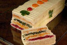 Torta de pão light