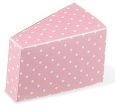 Pink Polka Dot Cake Wedge Lula Mai Events
