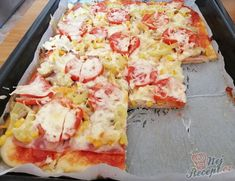 Hawaiian Pizza, Food Videos, Delicious Food, Quiche, Foods, Party, Ideas, Pineapple, Food Food