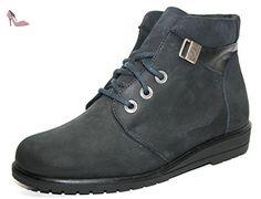 Ganter - Gabi Dames Chaussures Montantes & Bottines - Bleu Océan, 36 - Chaussures ganter (*Partner-Link)