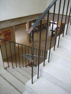 Pedernales | Ryan Street & Associates forged iron railing