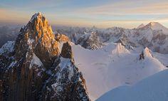 Sunrise On K7 (K2 Can Be Seen In Far Distance) Karakoram Pakistan | By Jonathan Griffith [18601120] #reddit