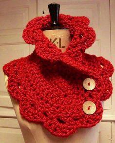 Manualidades Crochet Cuellos