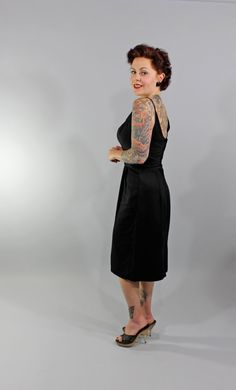 1950s Vintage DressCLINGS TO ME Summer Fashion by stutterinmama, $124.00